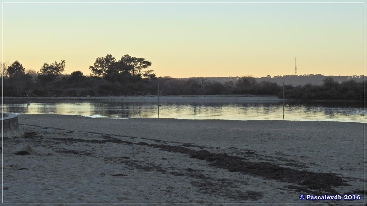 Plage et port de La Hume - Bassin d'Arcachon - Décembre 2016 - 8/10