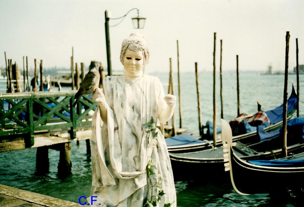Carnaval de Venise oiseaux et chats