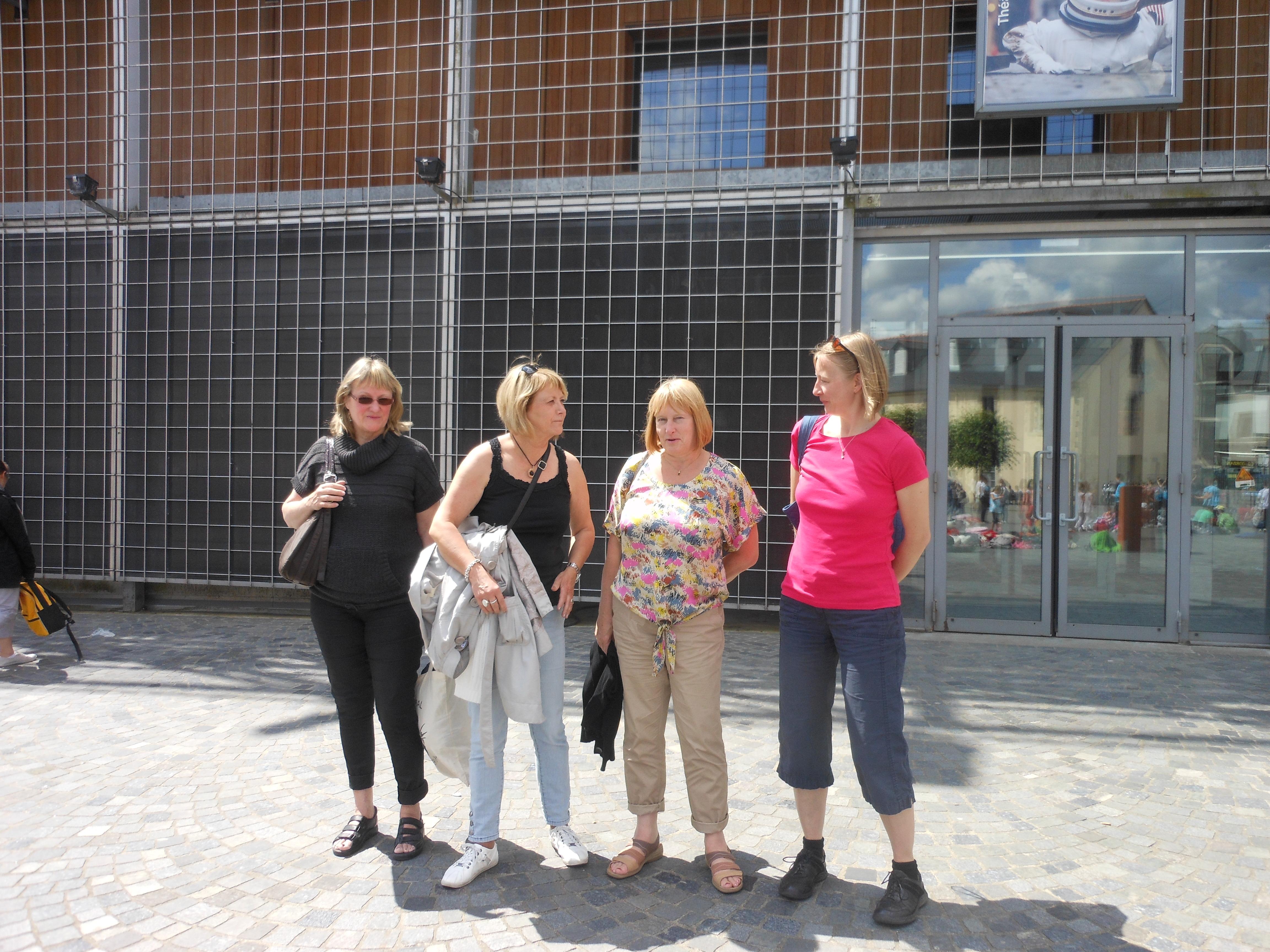 Visite de nos partenaires anglaises et suédoises