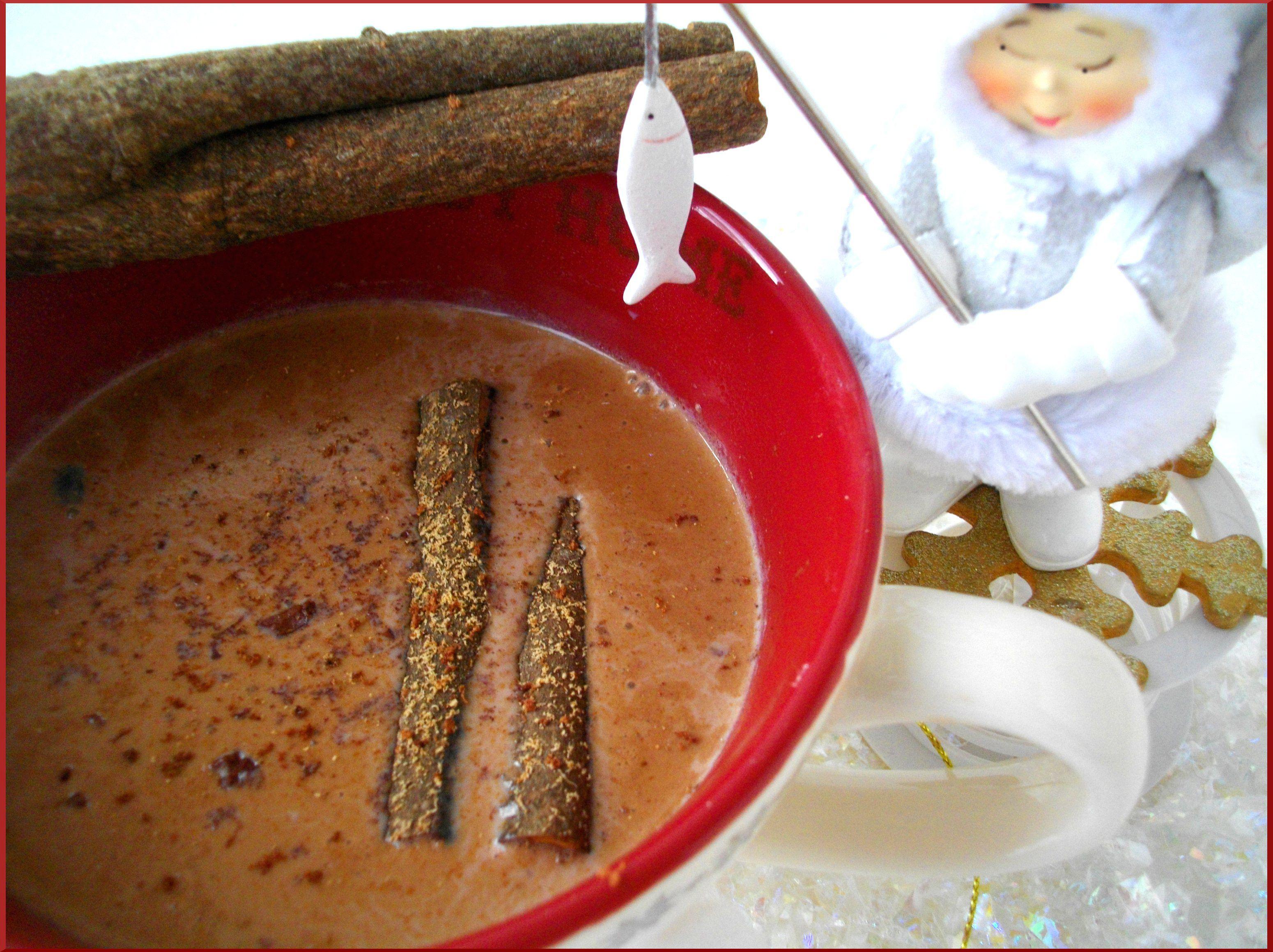 Chocolat Chaud de mon enfance par Ma Maman antillaise...