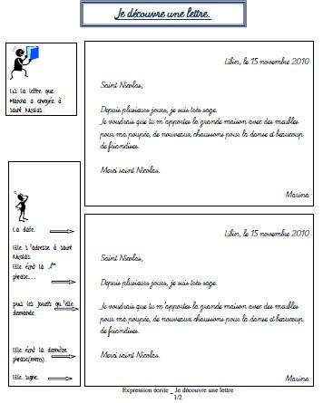 presentation lettre
