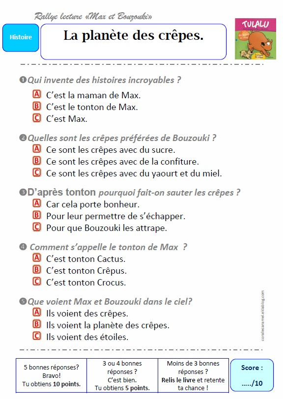 fiches histoires