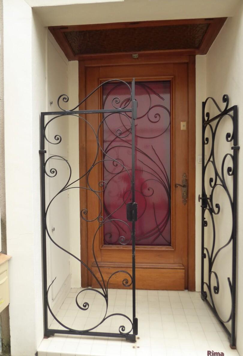 Série de portes,