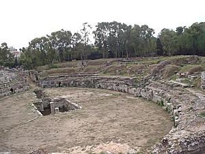Syracuse - L'amphithéâtre romain