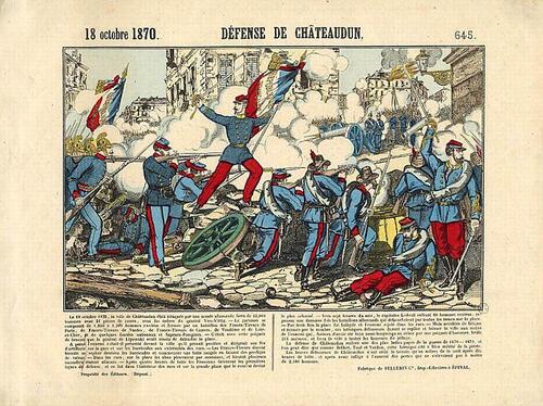 Image de 1870 - Châteaudun (ville Légion d'Honneur)