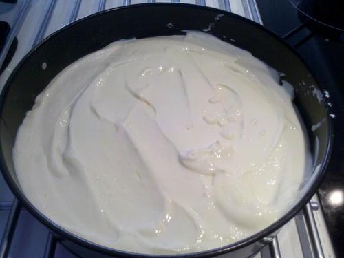 Le cheesecake de Carole.