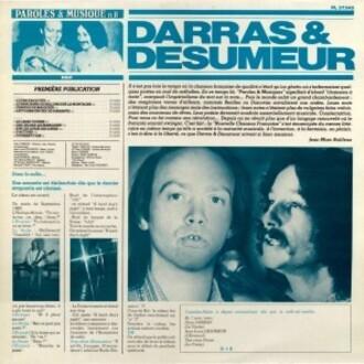 PRÉSENCE Darras et Désumeur LP 1979