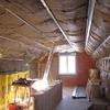 isolation en laine de verre de 200 + 100 dans combles aménagés mikit (2)