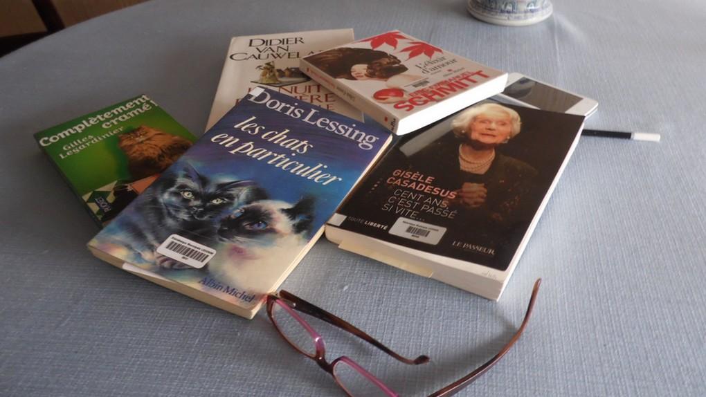 Vacances ... lecture !                      4