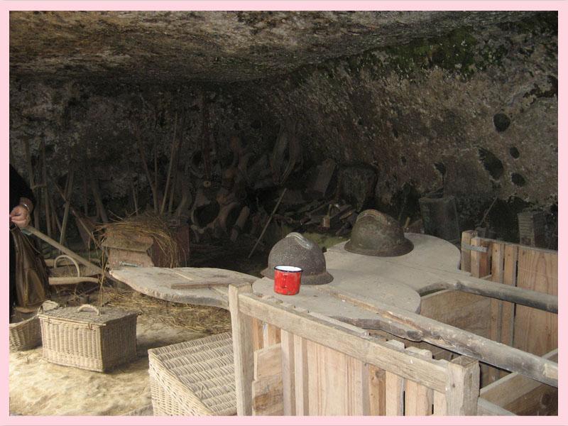 24620 Les Eyzies-de-Tayac -Sireuil  Grottes du roc de Cazelle