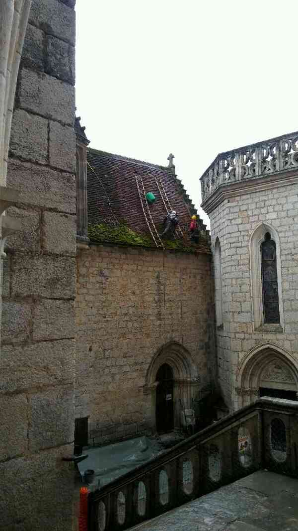 Réfection des toitures des chapelles Sainte Anne et Saint Blaise