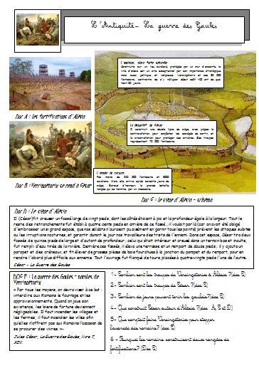 L'Antiquité: la romanisation de la Gaule