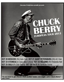 Chuck Berry - European tour