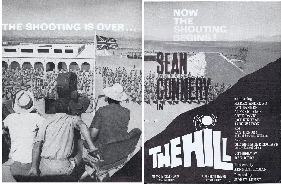 THE HILL BOX OFFICE USA 1965