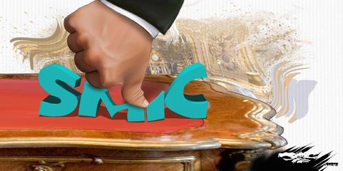 dessin de JERC et texte d'AKAKU du mardi 04 décembre 2018 caricature Coupe de pouce pour le SMIC Catacly-smic www.facebook.com/jercdessin @dessingraffjerc