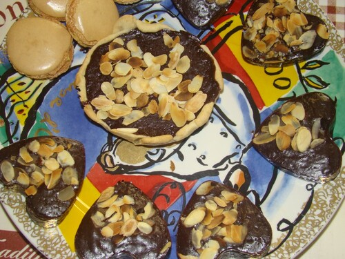 Recette de tarte fine au chocolat...