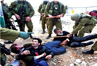 تسجيل مصور يفضح همجية الاحتلال