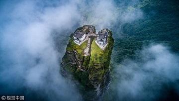 Le temple du sommet des nuages ...