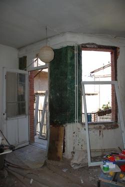 Les fenêtres de notre chambre