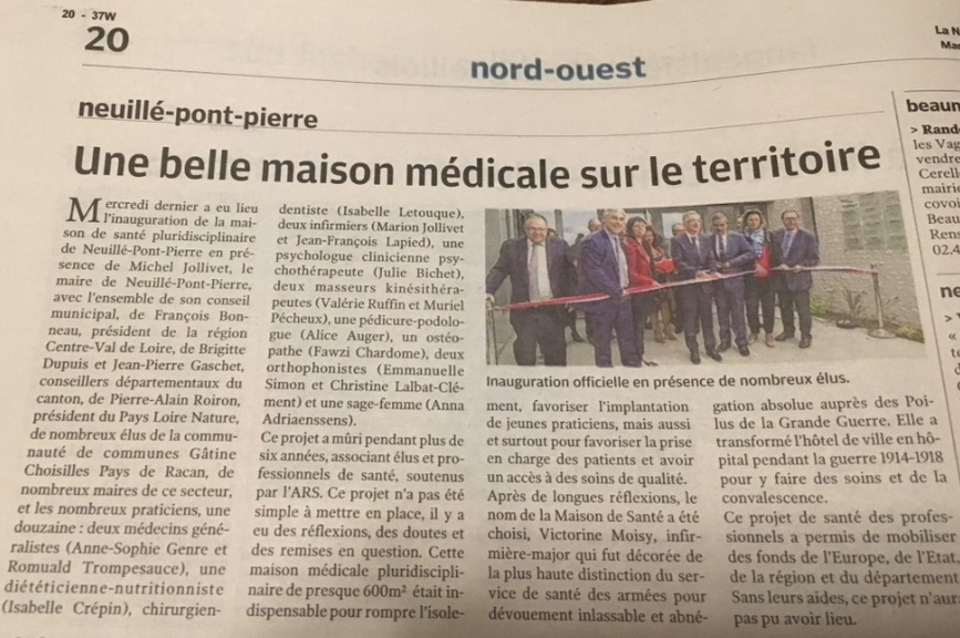 INAUGURATION DU 20 SEPTEMBRE 2017 - MSP