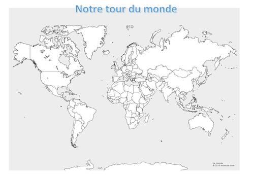 Trace écrite du projet tour du monde