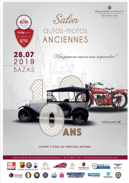 28 juillet 2019 : Rétromobile à Bazas