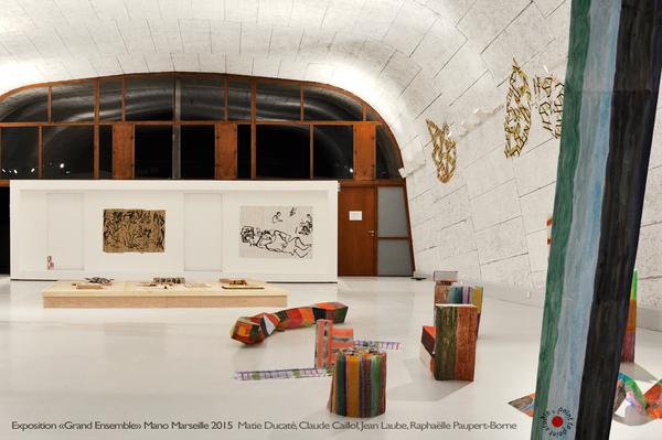 Exposition Grand Ensemble,Marie-Ducate,Claude-Caillol,Jean-Laube,Raphaëlle Paupert-Borne