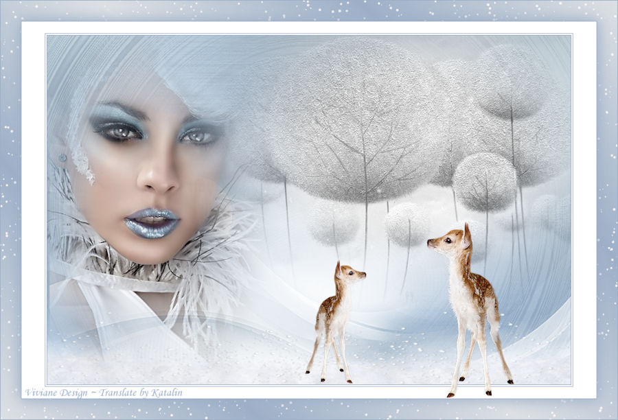 Tutorial Viviane - Winter Wonderland