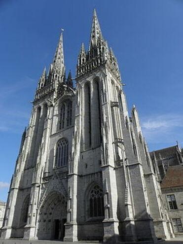 quimper et sa cathédrale