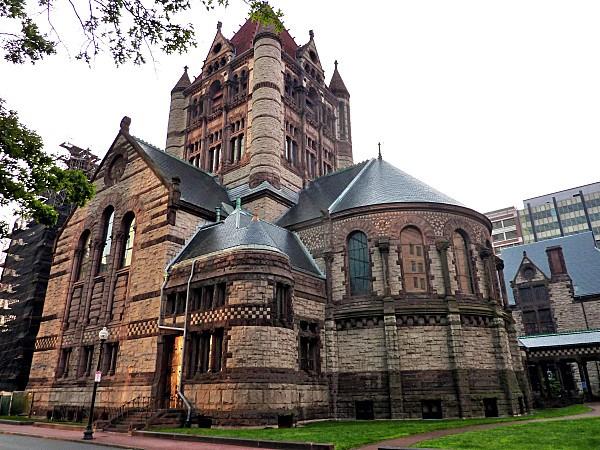 Boston Back Bay Trinity church 1