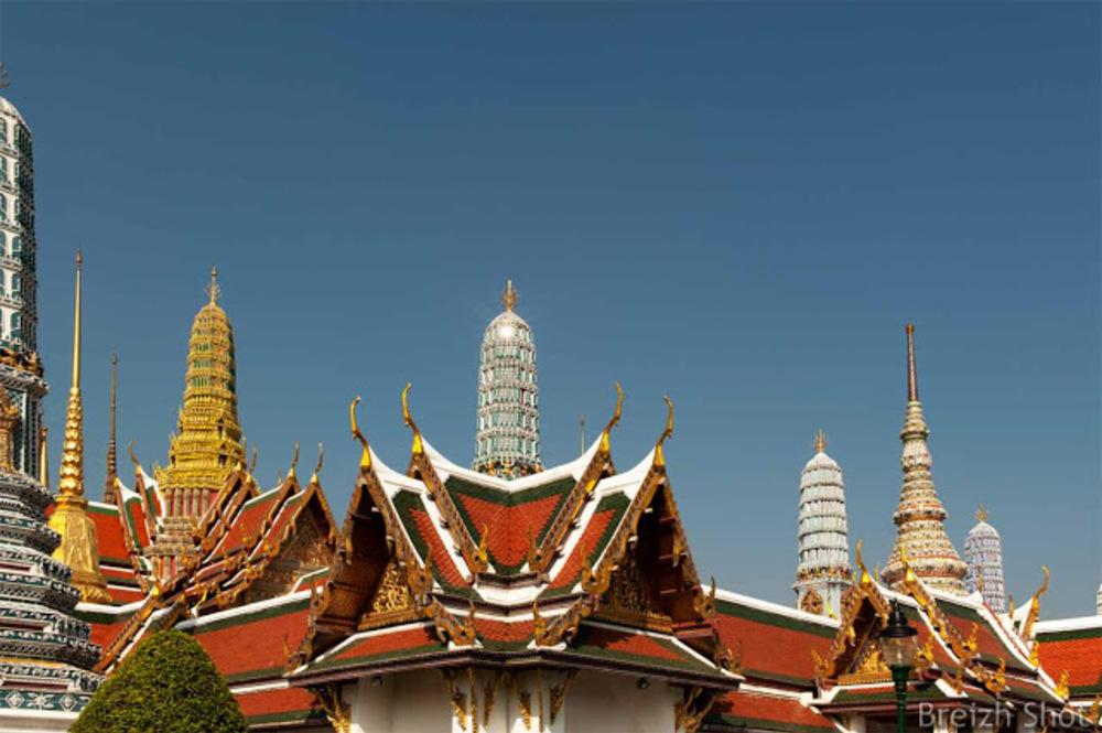 Grand Palais de Bangkok : Wat Phra Kaew
