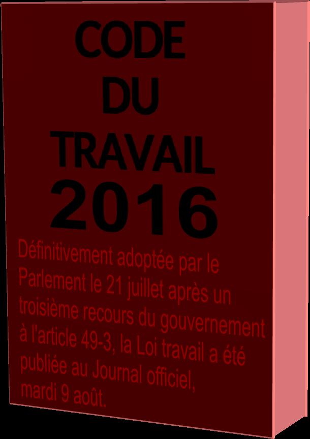 Code du Travail 2016