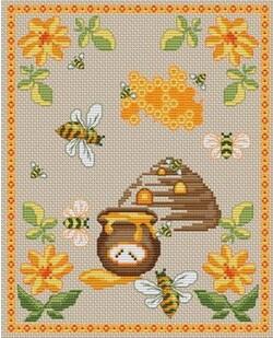 Miel, ruche et abeilles