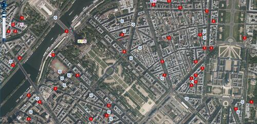 Cartographie émetteurs radio