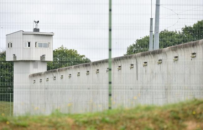 La maison d'arrêt du Mans-Les Croisettes à Coulaines (Sarthe), le 4 août 2016.