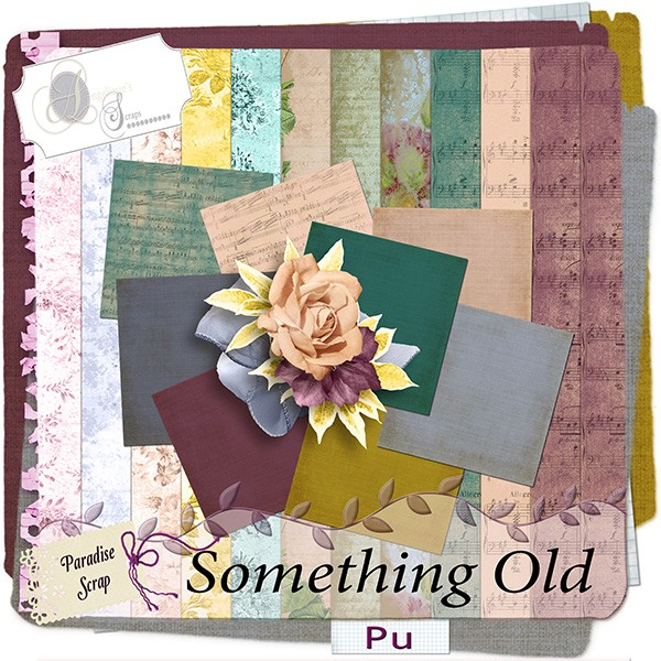 Something Old de Angelique's scrap