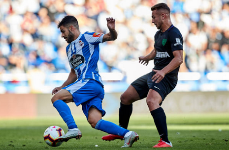 Maillot RC Deportivo 2018 2019 Domicile