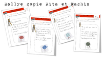 "Rallye copie ""Rita et Machin"""