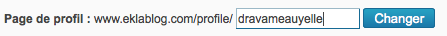 J'ai eu une idée ou Comment ne pas avoir à mettre à jour tous les liens vers notre profil lorsqu'on en change l'adresse (ce qui est quasi-impossible) ou Le titre le plus long du monde \o/