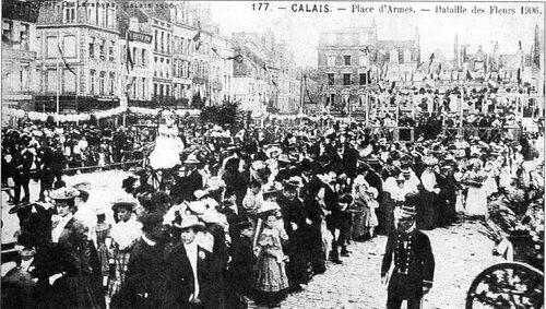 Calais et ses fêtes des fleurs