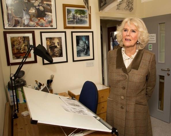 Camilla et l'art