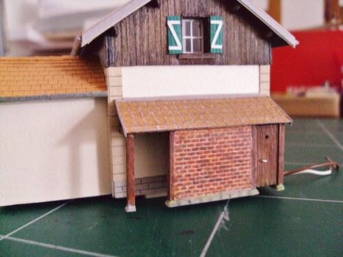 Une maison de garde barrière