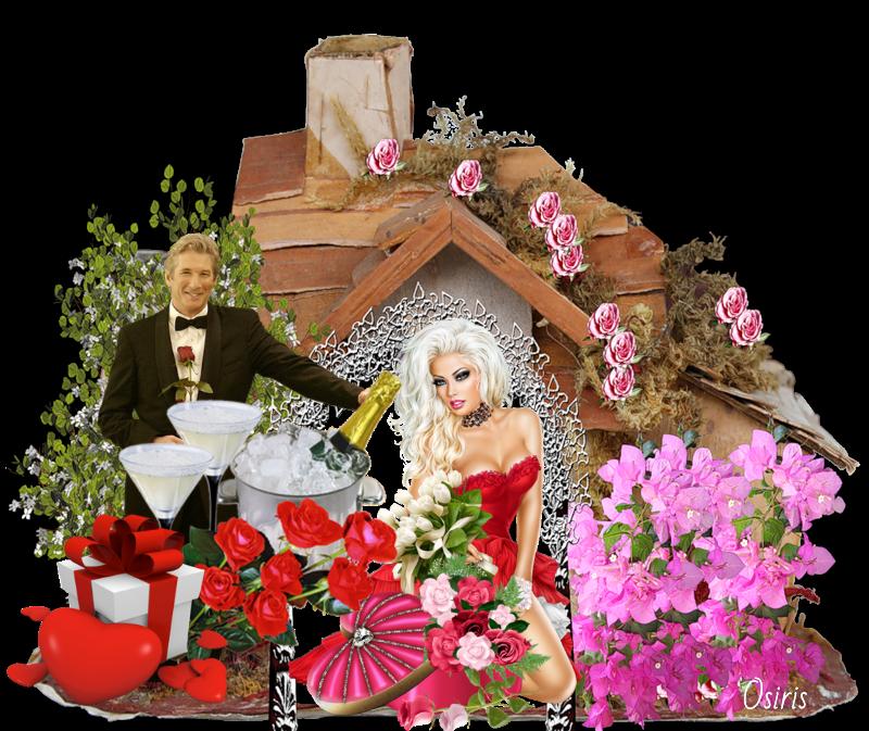 Chocolats, fleurs où souper aux chandelles !
