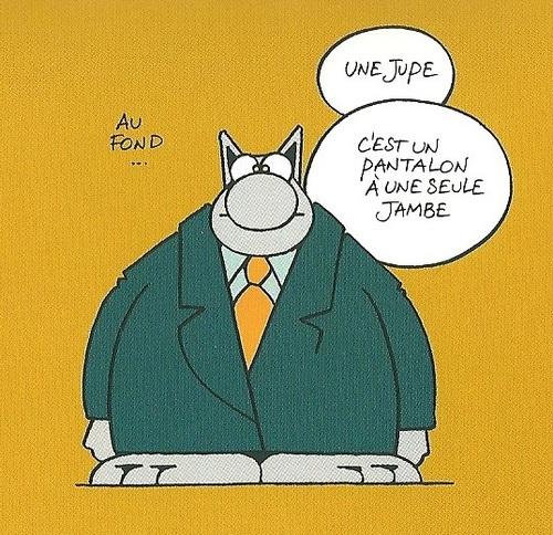 Merci à Philippe et son chat !