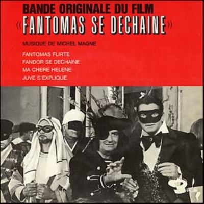 FANTOMAS SE DECHAINE -  LOUIS DE FUNES BOX OFFICE 1965