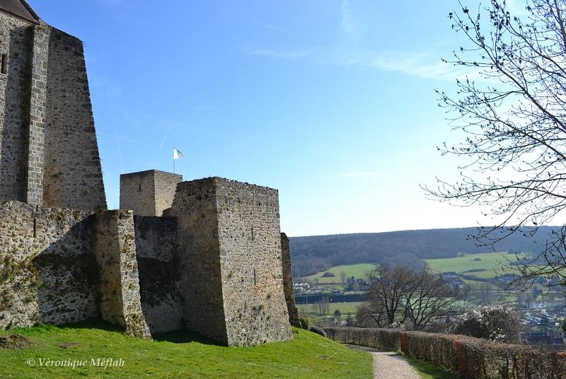 Ville de Chevreuse : Le château de la Madeleine