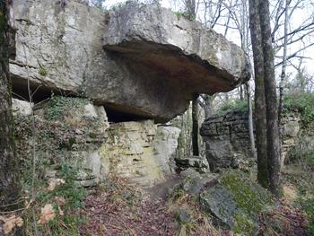 Un beau rocher tabulaire