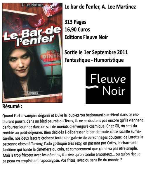 Le bar de l'enfer, A.Lee Martinez