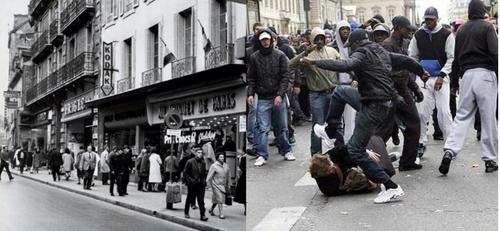 le choc des photos, le choc des civilisations !