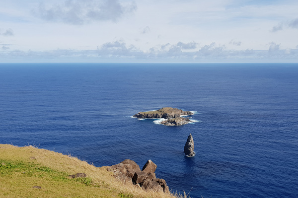Orongo et le volcan Rano Kau